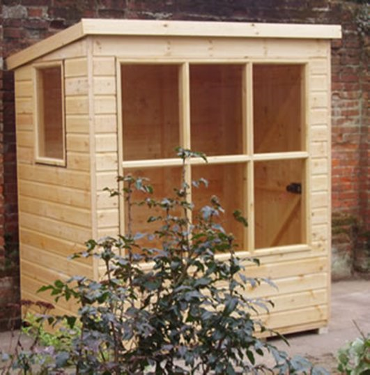 mini potting shed mid cheshire panels