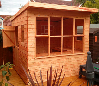 Modern Potting Shed