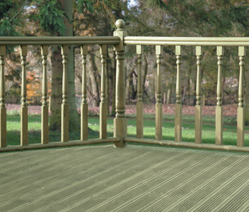 Decking boards 125 x 35 x length mid cheshire panels for 4 8 meter decking boards